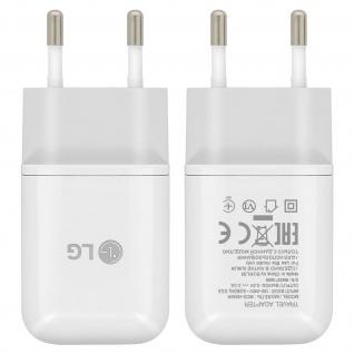 Original LG Wand Ladegerät 3A + USB-Typ C Ladekabel für Smartphones/ Tablets