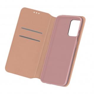 Kunstleder Cover Classic Edition für Samsung Galaxy A32 5G ? Rosegold
