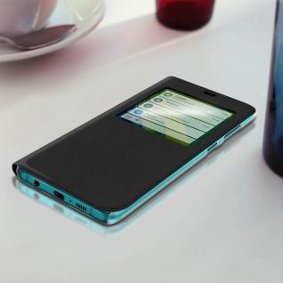 Klapphülle mit Sichtfenster für Xiaomi Mi Note 10 Lite ? Schwarz - Vorschau 3