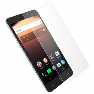 Displayschutzfolie aus Hartglas 0, 33mm für Alcatel A3 XL - Muvit