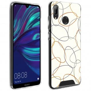 Handyhülle für Huawei Y7 2019, Made in France ? Gekritzel Design