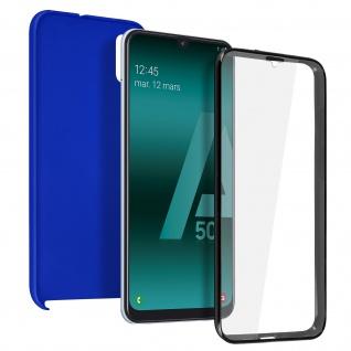 Schutzhülle für Samsung Galaxy A50, Vorder- + Rückseite - Blau