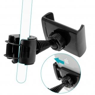 Universal KFZ Kopfstützen-Halterung, 360° drehbare Halterung - Schwarz