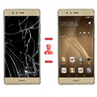 Ersatzdisplay Huawei P9 kompatibel, Scheibe vormontiert - Gold - Vorschau 4