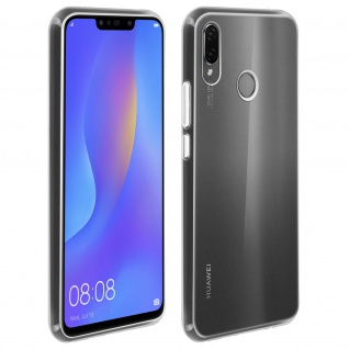Gelhülle, flexibles Backcover für Huawei P Smart Plus, frosted case- Transparent
