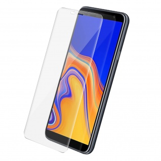2x Bruchsichere Glas-Displayschutzfolie, Full Cover für Galaxy J4 Plus - Akashi