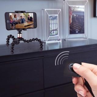 JOBY GripTight ONE & GorillaPod Dreibeinstativ für Smartphones - Schwarz/ Rot