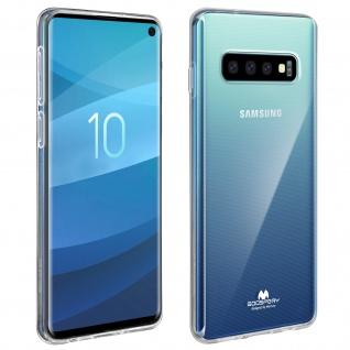 Mercury Schutzhülle, Glossy Hülle für Samsung Galaxy S10 - Transparent