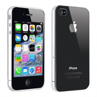 Gelhülle, Backcover für Apple iPhone 4 / 4S, frosted case ? Transparent