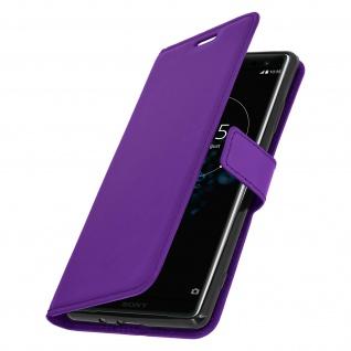 Flip Stand Cover Brieftasche & Standfunktion Sony Xperia XZ3 - Violett - Vorschau 2