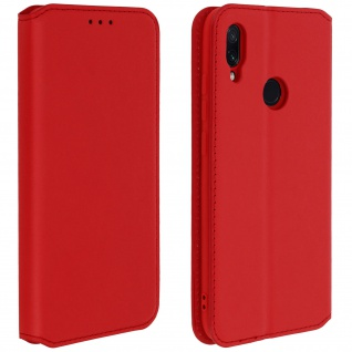 Kunstleder Cover Classic Edition Xiaomi Redmi Note 7 - Rot