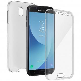 Galaxy J5 2017 Rundumschutz Vorder- Rückseite - 360° Schutz + Touchscreen