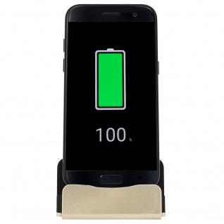 Ladestation mit USB-C Anschluss Aufladen & Synchronisierung - Gold - Vorschau 2