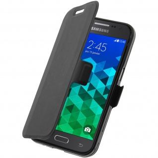 Samsung Galaxy Core Prime Colorfone ultradünne Flip-Schutzhülle - Schwarz