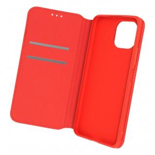 Kunstleder Cover Classic Edition, Klappetui für Xiaomi Mi 11 Lite ? Rot
