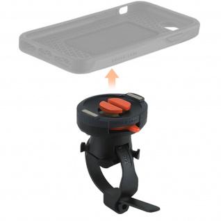 Tigra FitClic Neo schwarze Smartphone Fahrrad Halterung mit doppeltem Verschluss
