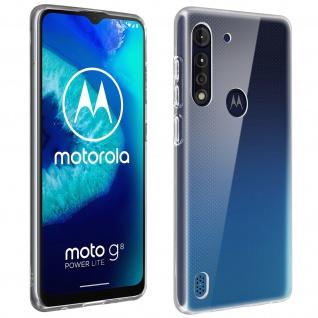 Motorola Moto G8 Power Lite Schutzhülle Silikon by Akashi - Transparent