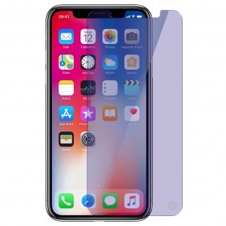 Force Glass Displayschutzfolie iPhone X Blaulicht-Filter - Lebenslange Garantie - Vorschau 1