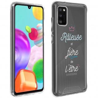 """Handyhülle für Samsung Galaxy A41, Made in France ? """" Râleuse"""" Design"""