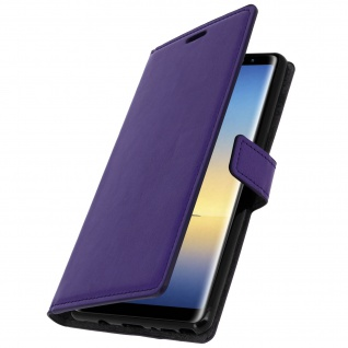 Flip Cover Stand Case Brieftasche & Standfunktion für Galaxy Note 8 - Violett