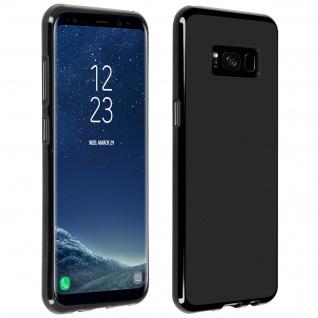 Schutzhülle aus Silikon für Samsung Galaxy S8 - Schwarz Matt
