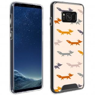 Handyhülle für Galaxy S8, Made in France ? Füchse Design