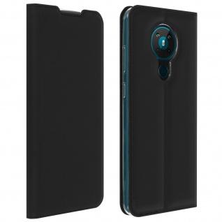 Klappetui mit Kartenfach & Standfunktion Nokia 5.3 - Schwarz