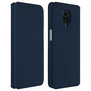 Classic Edition Etui Xiaomi Redmi Note 9S/Note 9 Pro/Note 9 Pro Max - Blau