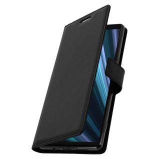 Flip Stand Cover Brieftasche & Standfunktion für Sony Xperia 1 - Schwarz - Vorschau 2
