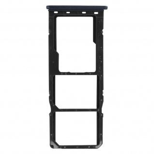 2x SIM + 1x Micro-SD Kartenhalter Ersatzteil für Honor 9A ? Schwarz