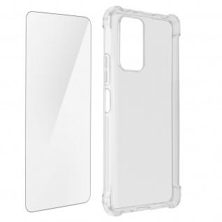 Premium Schutz-Set Xiaomi Redmi Note 10 / Note 10s Hülle + Folie ? Transparent