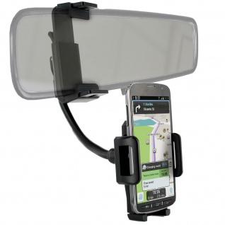 KFZ-Halterung für Smartphones - Rückspiegel Befestigung