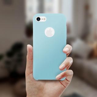 Apple iPhone 7, iPhone 8 stoßfeste Soft Touch Schutzhülle - Türkisblau - Vorschau 4