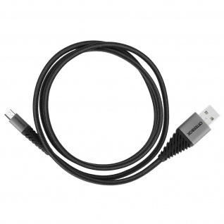 Otterbox Micro-USB- / USB-Kabel 1M zum Aufladen + Synchronisieren - Schwarz - Vorschau 4