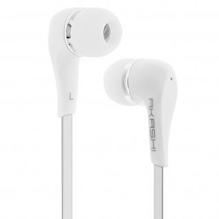 Akashi in-ear Kopfhörer mit 3.5mm Klinkenstecker - Weiß