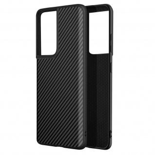 SolidSuit Carbon Handyhülle by Rhinoshield für Samsung S21 Ultra ? Schwarz
