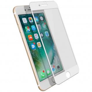 Displayschutzfolie, 9H 11D Schutzfolie für Apple iPhone 7 / 8 / SE 2020 Weiß