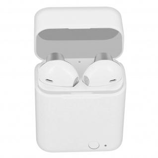 Kabelloses Bluetooth 5.0-Headset, 12 Stunden Akkulaufzeit, Akashi ? Silber