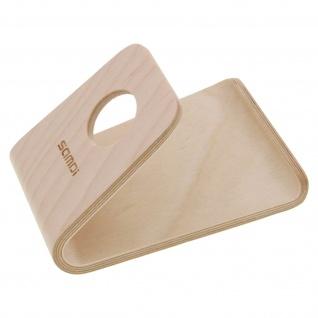 Tischhalterung aus Holz für Smartphones und Tablets ? SAMDI