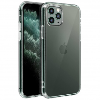 Crystal Schutzhülle + Bumper cover für Apple iPhone 11 Pro Max - Transparent