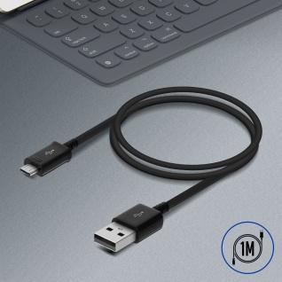 Original Samsung 0.9m USB/ Micro-USB Kabel ?Aufladen & Synchronisierung? Schwarz - Vorschau 5