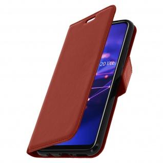 Flip Stand Cover Brieftasche & Standfunktion Huawei Mate 20 lite - Braun - Vorschau 2