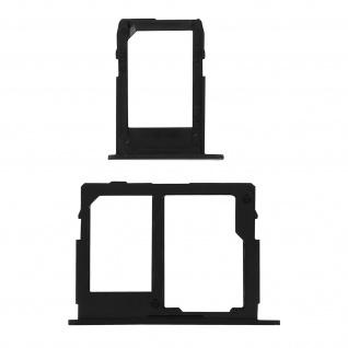 1x Nano SIM-Kartenhalter, 1x Nano SIM-/Micro-SD Kartenhalter für Galaxy J5 2017 - Vorschau 2