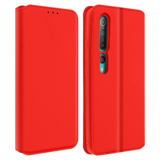 Kunstleder Cover Classic Edition Xiaomi Mi 10, Xiaomi Mi 10 Pro � Rot