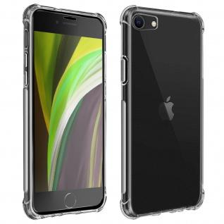 Premium Schutz-Set iPhone 7 / 8 /SE 2020 Schutzhülle + Schutzfolie - Transparent
