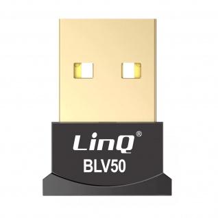 Bluetooth USB-Dongle Sender/Empfänger Mehrpunktverbindung, LinQ ? Schwarz