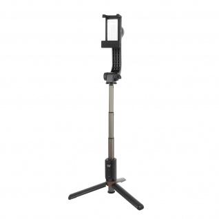 Gimbal Stabilisator, ausziehbares Stativ + Bluetooth-Auslöser, 3-in-1 - Schwarz