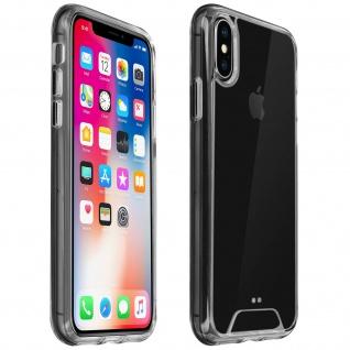 Cristal Hybrid Schutzhülle, Backcover für Apple iPhone X / XS ? Transparent