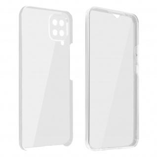 Schutzhülle für Samsung Galaxy M12, Vorder- + Rückseite ? Transparent