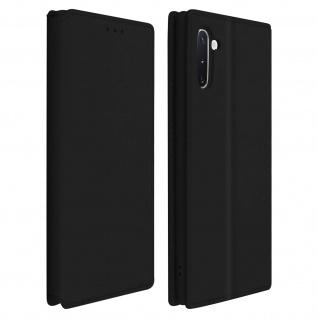 Kunstleder Cover Classic Edition Samsung Galaxy Note 10 - Schwarz